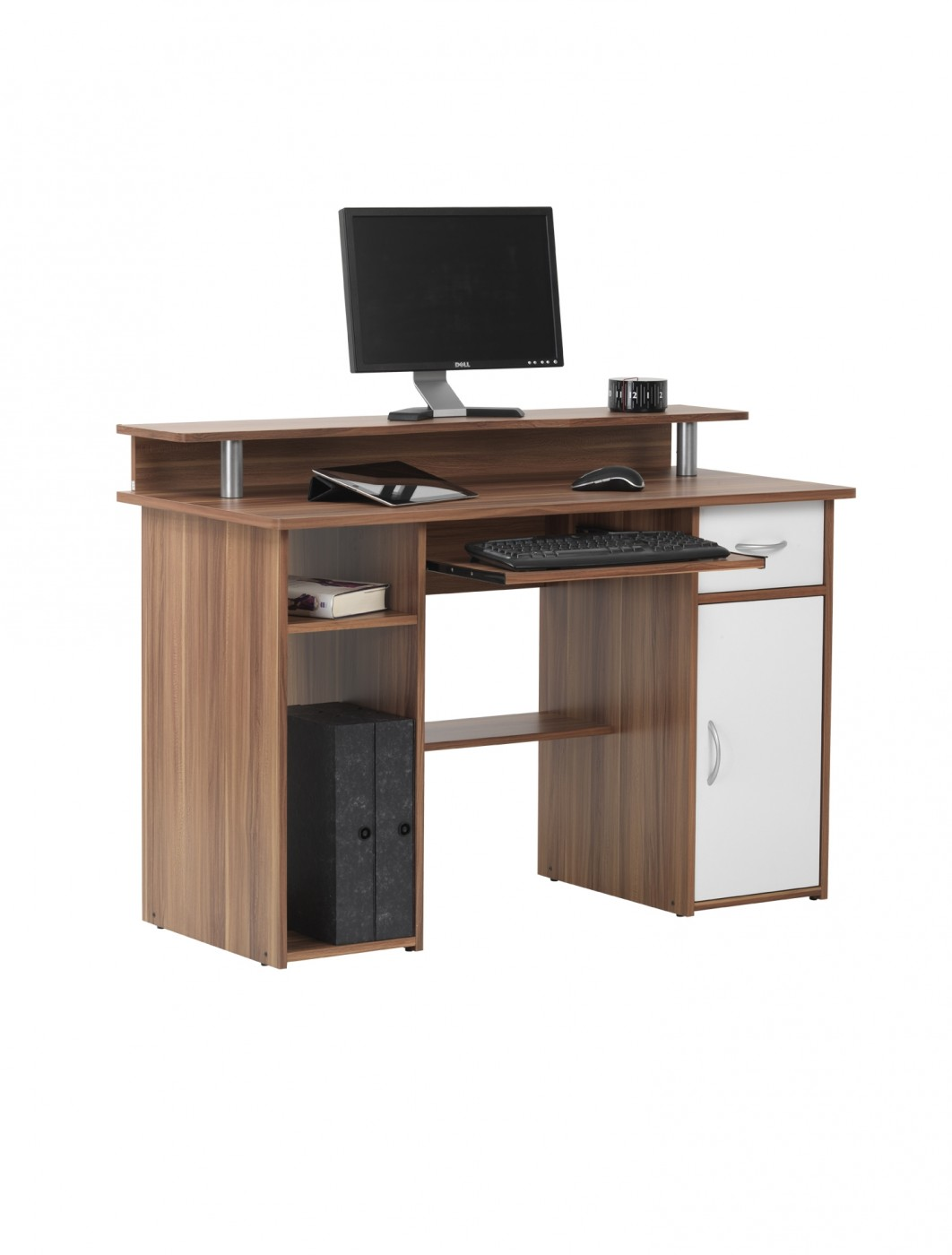 Albany Computer Workstation AW12362-WAL