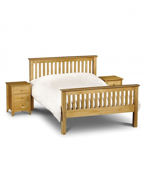 Julian Bowen Barcelona 150cm (5ft) King Size Bed HFE BAR006