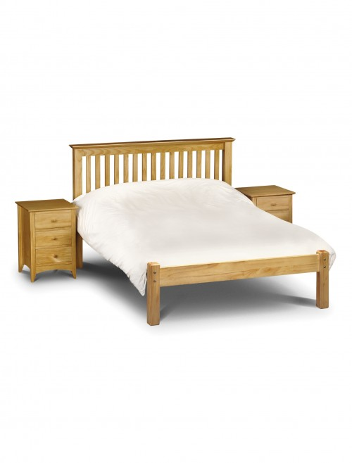 Julian Bowen Barcelona 135cm (4ft6) Double Bed LFE BAR004