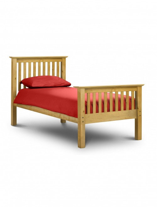 Julian Bowen Barcelona 90cm (3ft) Single Bed HFE BAR001