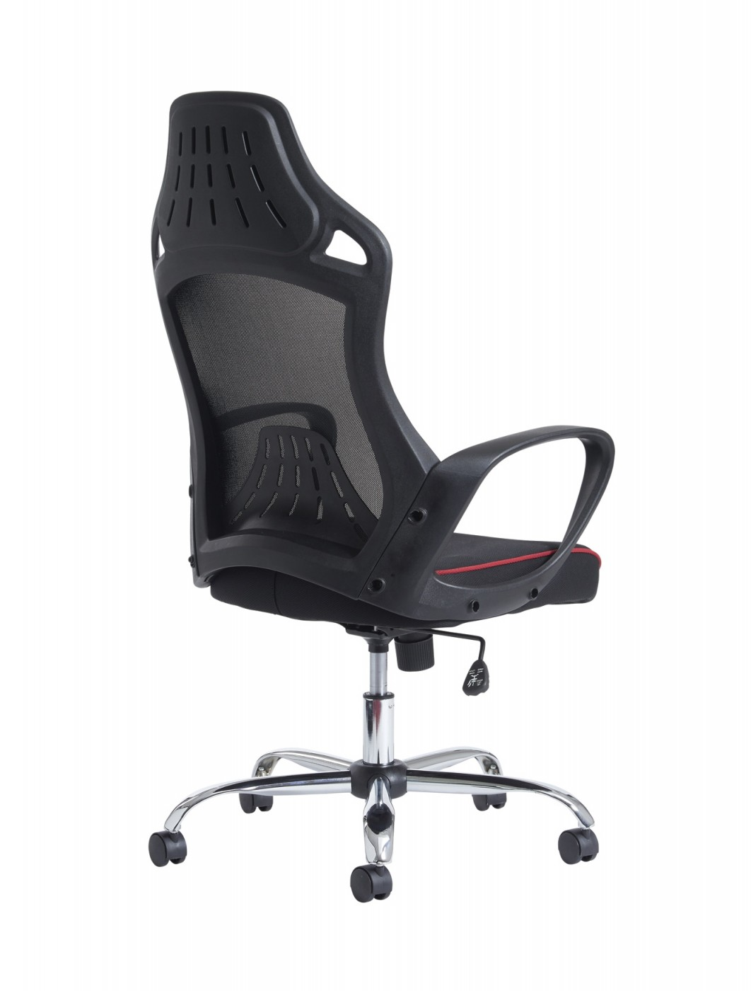 Office chair back view - Dams Andretti High Mesh Back Office Chair And300t1 Kr Enlarged View
