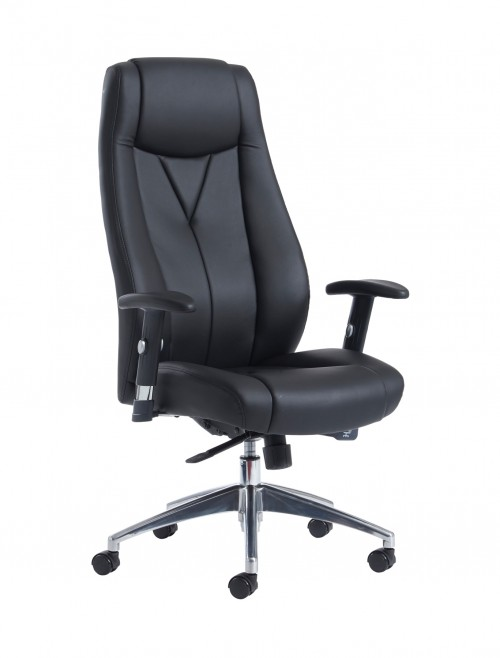 Dams Odessa Faux Leather High Back Managers Chair ODE300T1