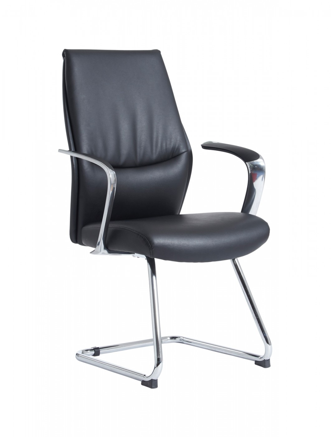 Dams Limoges Leather Visitors Chair Lim100c1 121 Office
