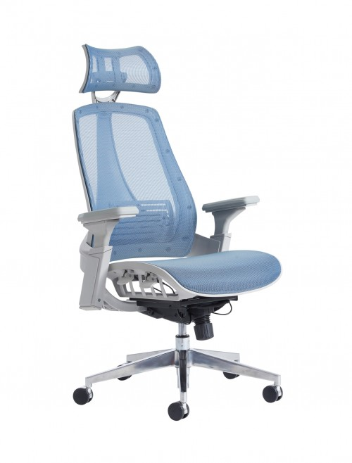 Office Chairs, Aztec Mesh Chair BCM/H222/BK | 121 Office Furniture