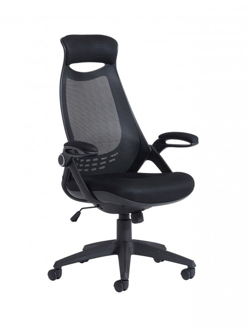 Office Chair Tuscan Mesh High Back Managers Chair TUS300T1 by Dams