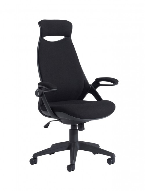 Dams Tuscan Fabric High Back Managers Chair TUS300T1-K