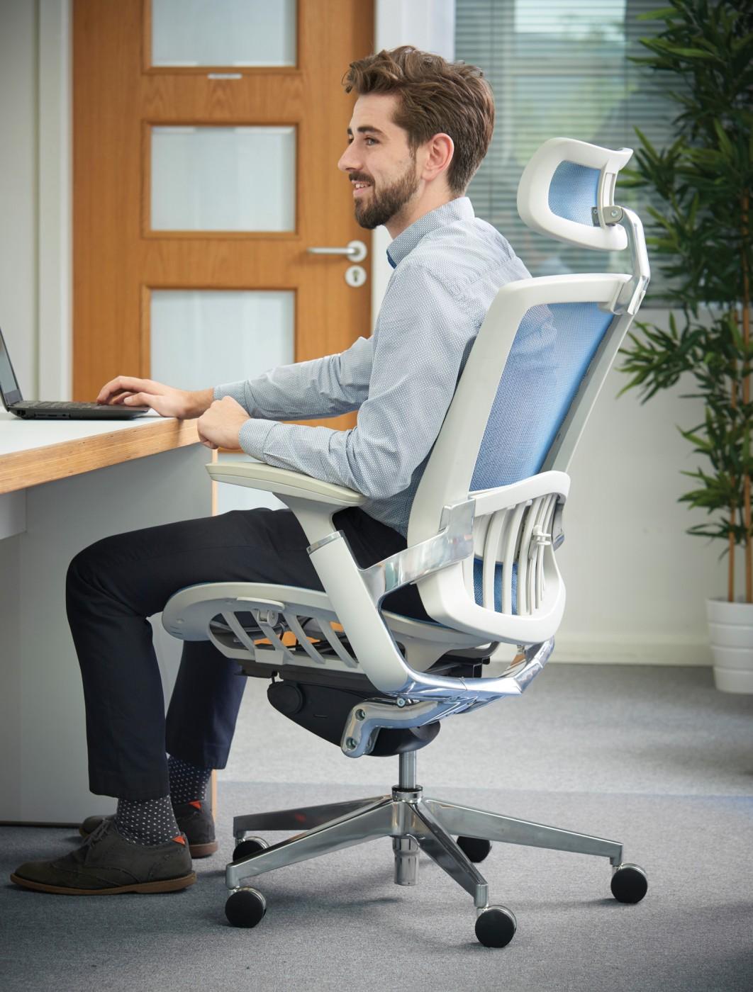 Dams Sorrento Mesh Back Posture Chair SORKB Office - Posture chair
