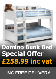 Julian Bowen Domino Bunk Bed