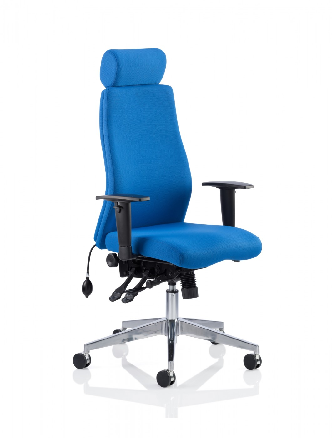 Dynamic Onyx Office Chair With Headrest IVONYX01 IVONYX02 121 Office Furniture