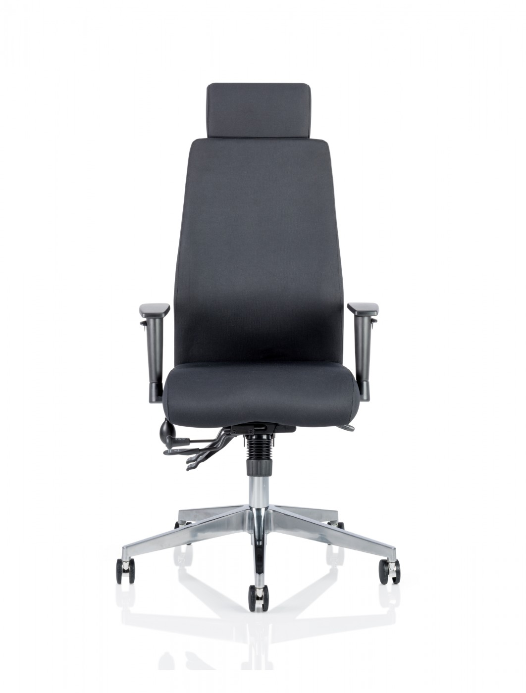 dynamic onyx office chair with headrest ivonyx01 ivonyx02