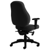 Zeus Black Fabric Office Chair