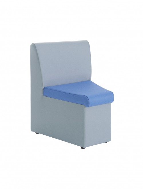 ALT50002 Alto Fabric Concave Corner Chair