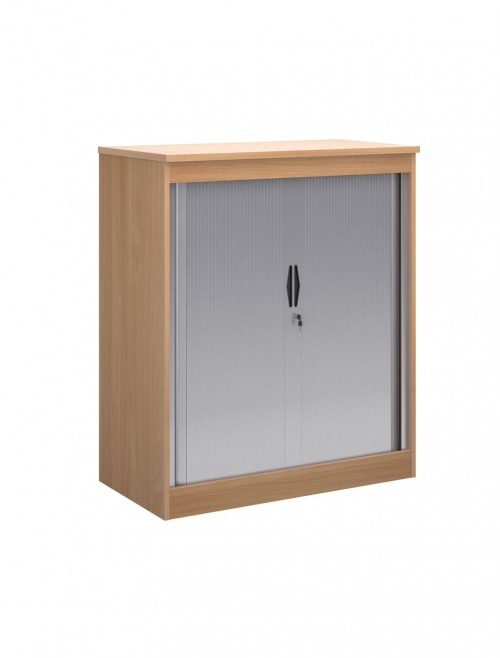 System Horizontal Tambour Door Cupboard ST12 - 1200mm High