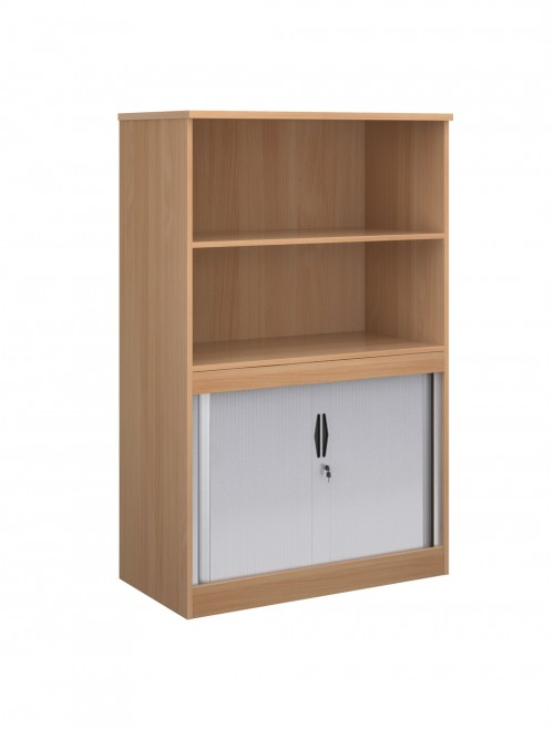 1600mm High System Combination Bookcase TO16 with Open Top