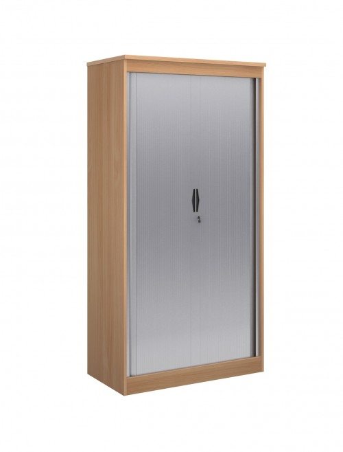 System Horizontal Tambour Door Cupboard ST20 - 2000mm High