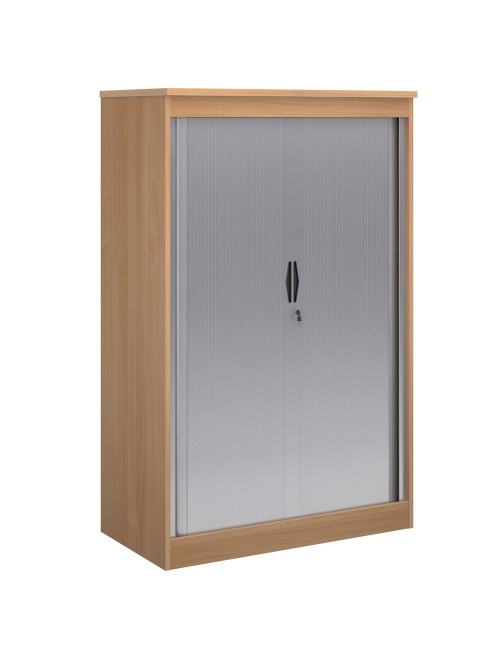 System Horizontal Tambour Door Cupboard ST16 - 1600mm High
