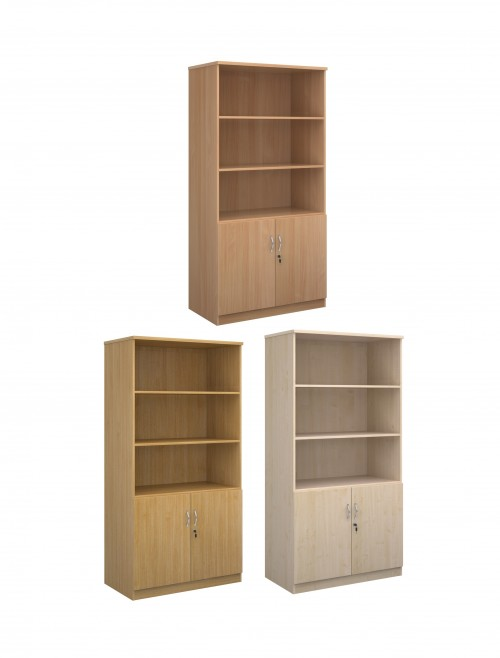2000mm High Deluxe Combination Bookcase DO20 with Open Top