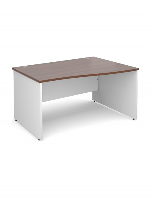 DUO14WR Duo 1400mm Right Hand Wave Office Desk