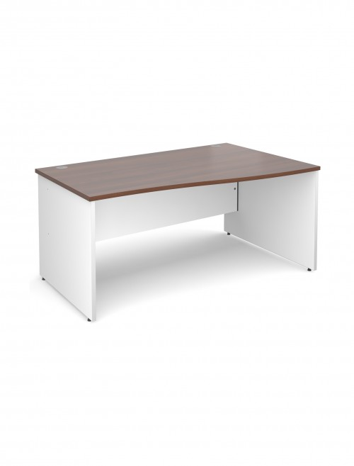 DUO16WR Duo 1600mm Right Hand Wave Office Desk