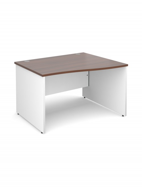 DUO12WR Duo 1200mm RightHand Wave Office Desk