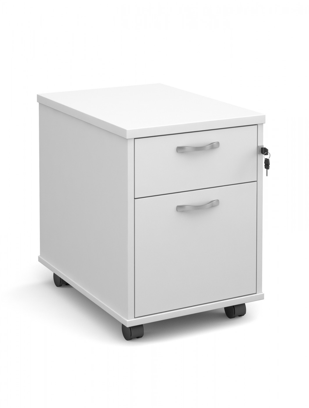 data dams 2 drawer mobile pedestal r2m with silver handles two drawer