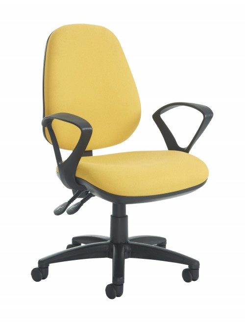 Jota High Back Operators Chair JH43-000 w/ Fixed Arms