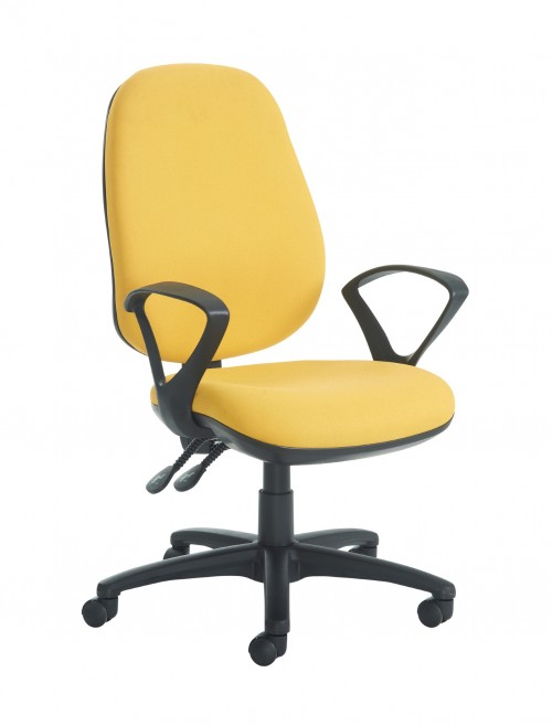 Jota Extra High Back Chair JX43-000 w/ Fixed Arms