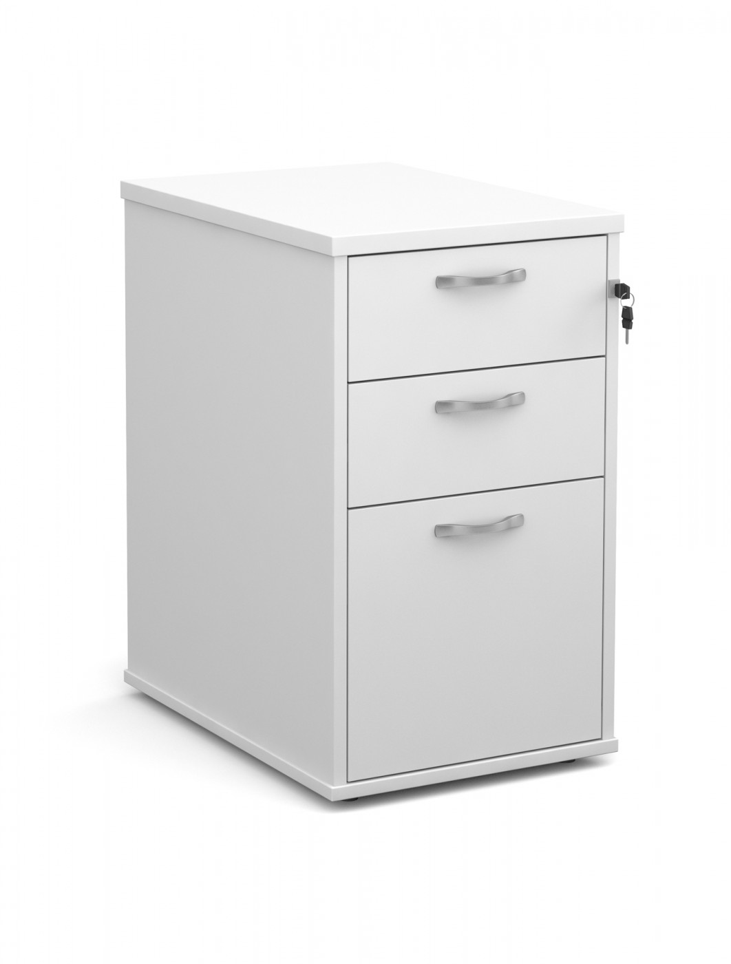 Dams Desk High Pedestal - 600mm Deep 3 Drawer Pedestal R25DH6