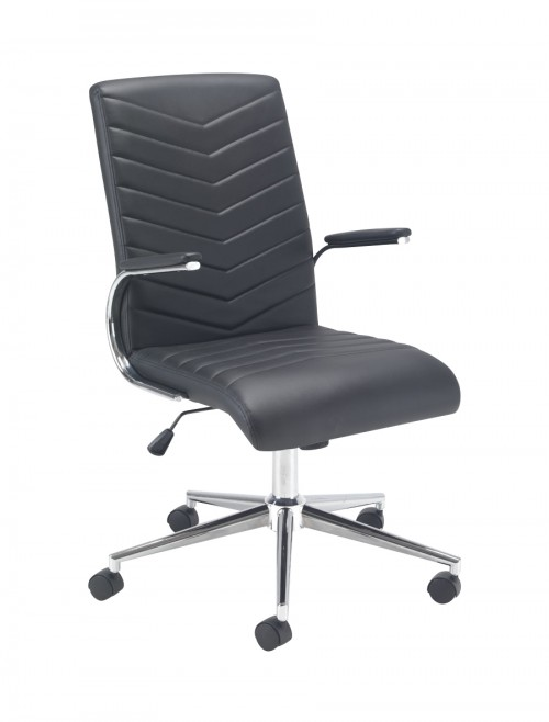Office Chairs - TC Baresi Managers Chair CH0789BK