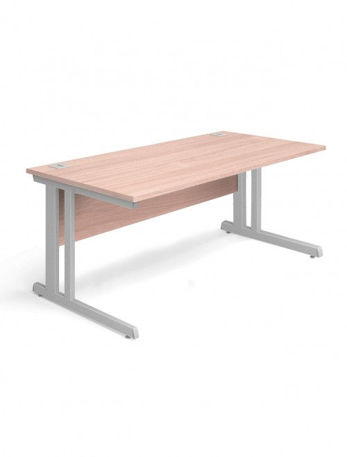 Beech Office Desk 1400x800mm Aspire Desk ET/SD/1400/BE