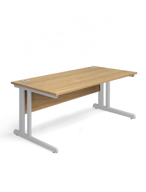 Oak Office Desk 1600x800mm Aspire Desk ET/SD/1600/OK