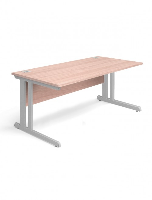Beech Office Desk 1200x800mm Aspire Desk ET/SD/1200/BE