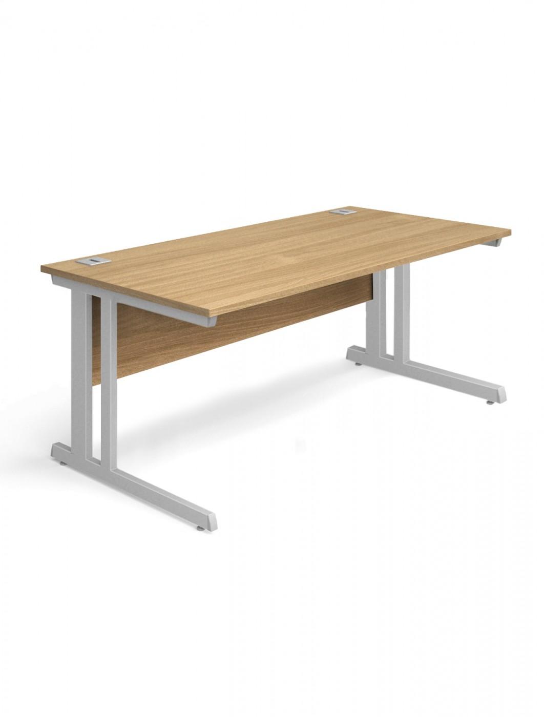 Oak office desk 1400x800mm aspire desk et sd 1400 ok 121 office furniture - Oak office desk ...