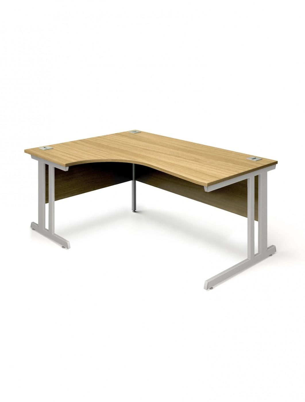 Oak office desk 1800mm aspire ergo desk et ed 1800 rl ok 121 office furniture - Oak office desk ...