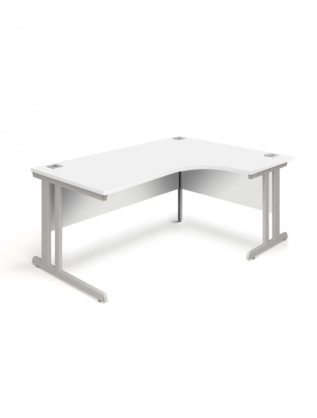 Charmant White Office Desk 1800mm Aspire Ergonomic Desk ET/ED/1800/RL/WH