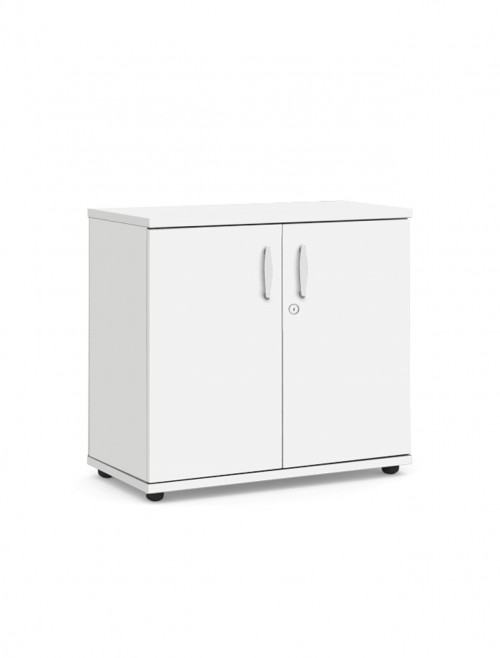 White Office Cupboard 800mm High Aspire Cupboard ET/CB/800/WH