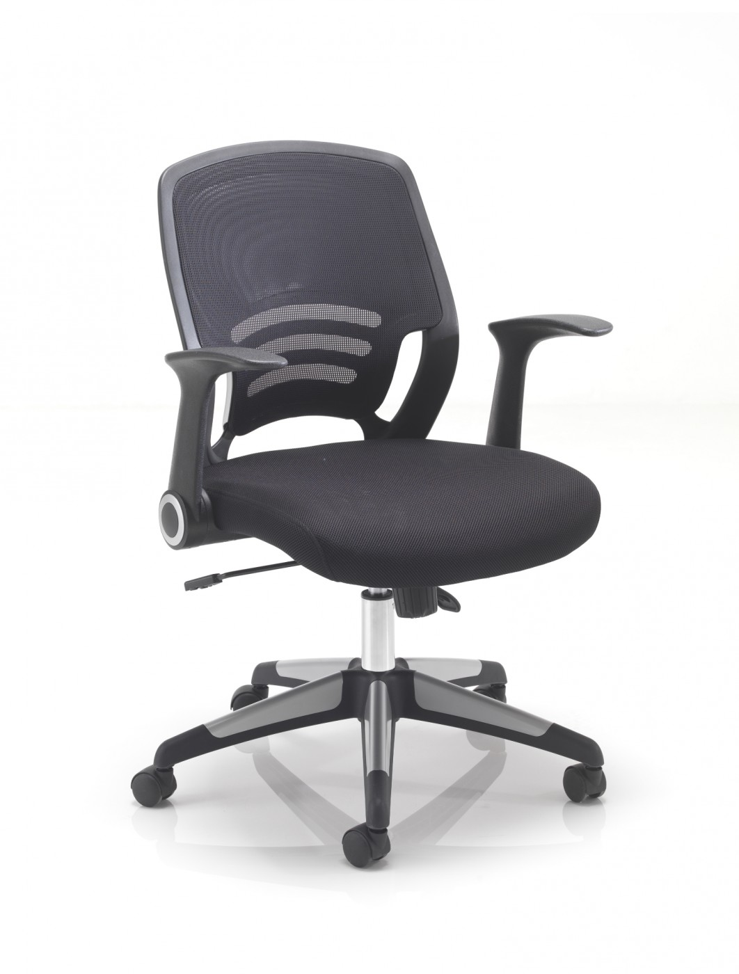 TC Carbon Mesh Office Chair CH1730BK   Enlarged View