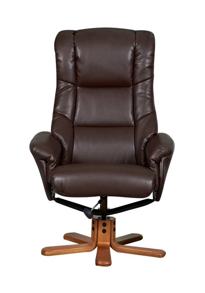 Chicago Luxury Recliner 6922 Nut Brown 121 Office