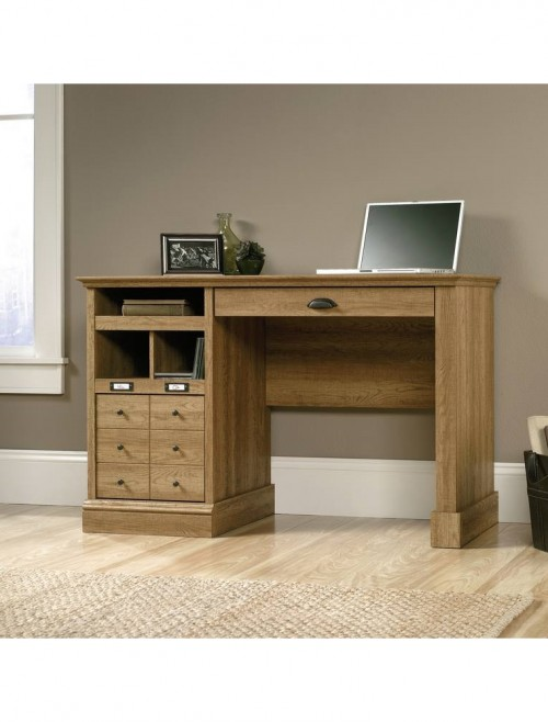 Teknik Scribed Oak Desk 5414836