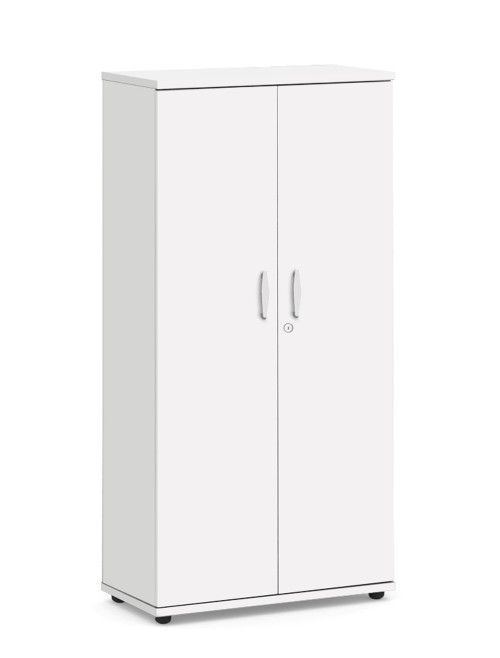 White Office Cupboard 1600mm High Aspire Cupboard ET/CB/1600/WH