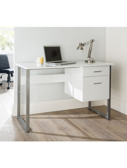 Alphason Cabrini Office Desk AW22226-WH