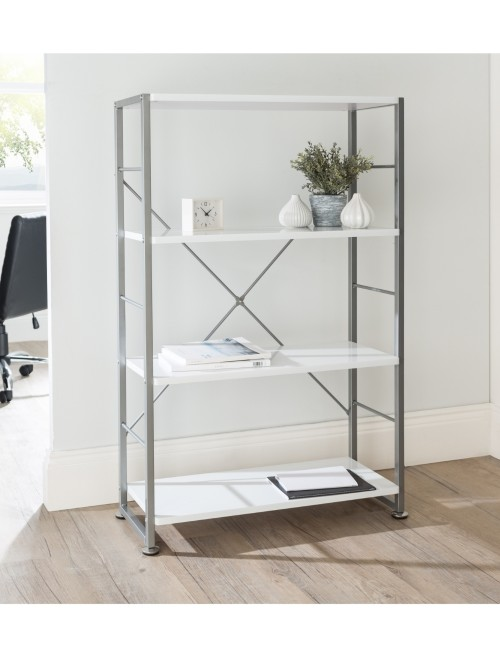 Alphason Cabrini Bookcase ABC65043-WH