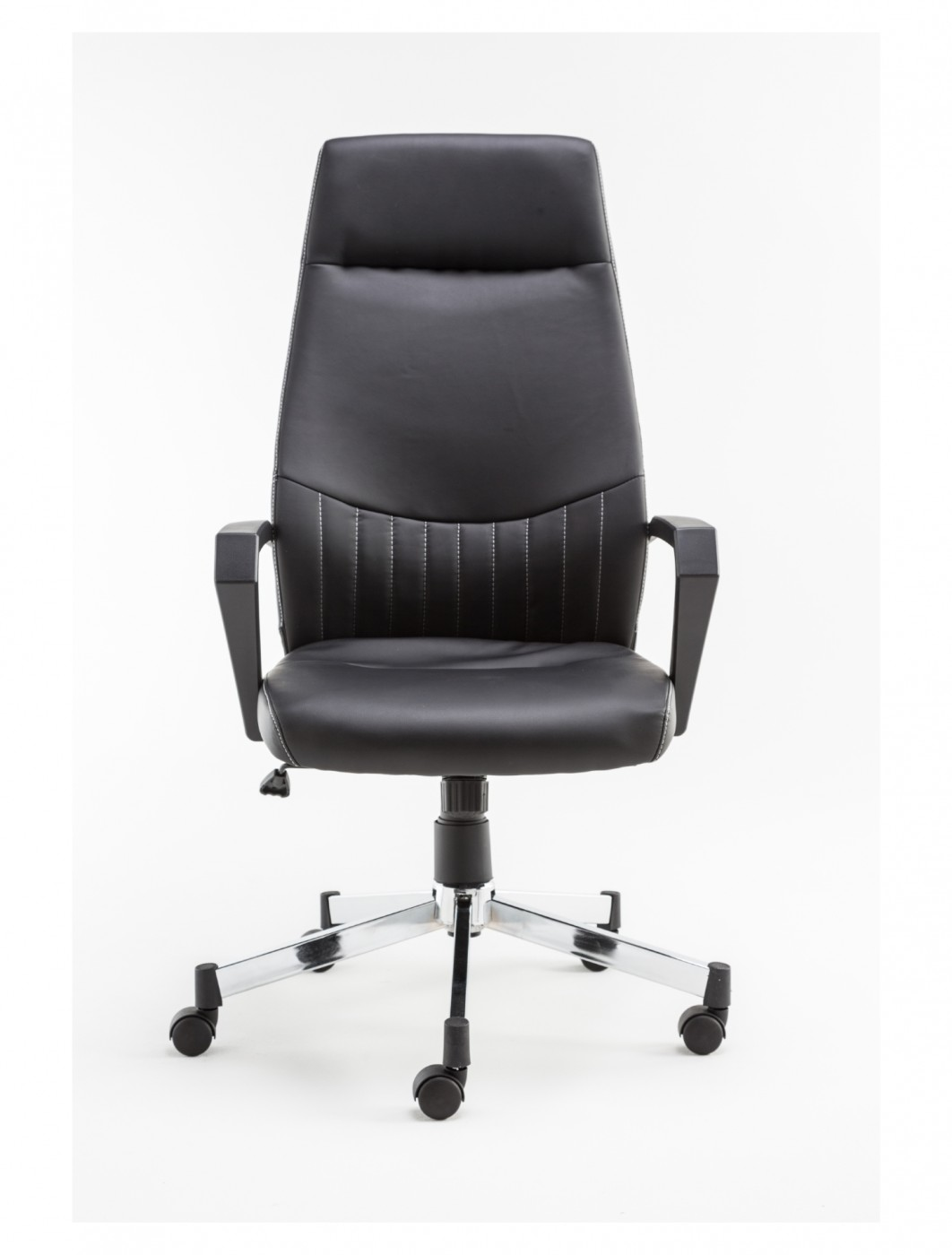 Brooklyn High Back Faux Leather Office Chair Alphason AOC3122HB-BLK