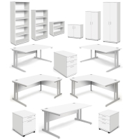 Aspire White Furniture Range
