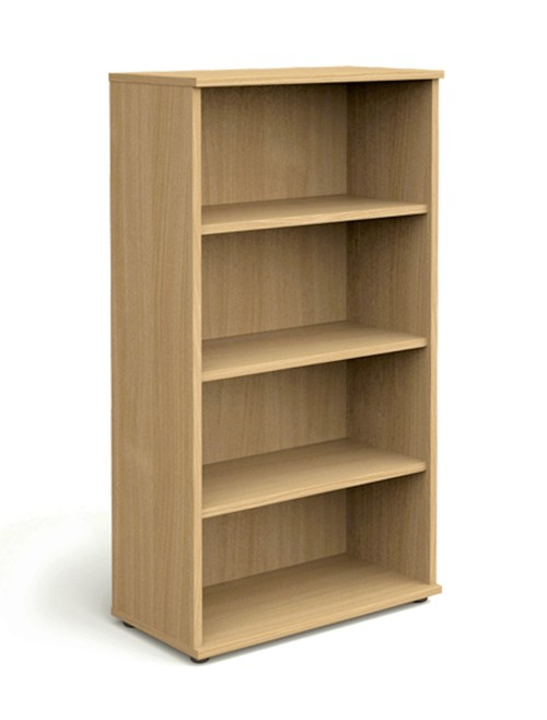 Oak Office Bookcase 1600mm High Aspire Bookcase ET/BC/1600/OK