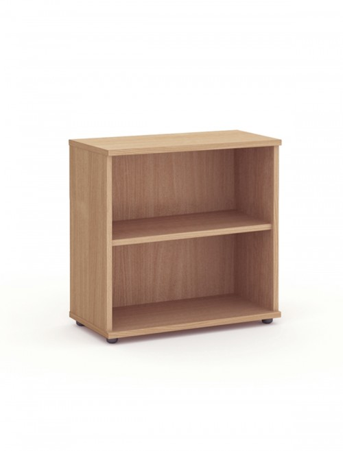 Beech Office Bookcase 800mm High Aspire Bookcase ET/BC/800/BE