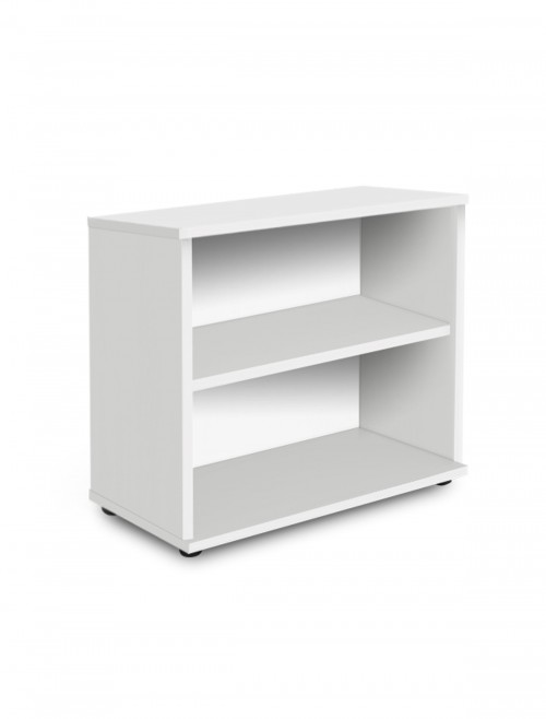 White Office Bookcase 800mm High Aspire Bookcase ET/BC/800/WH