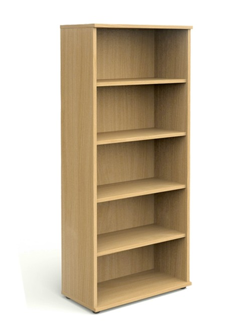 Oak Office Bookcase 2000mm High Aspire Bookcase ET/BC/2000/OK