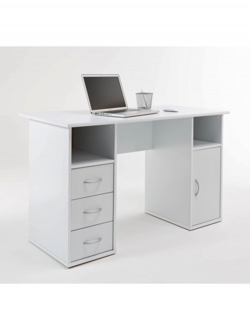 Alphason Maryland Computer Workstation AW12010WHI White