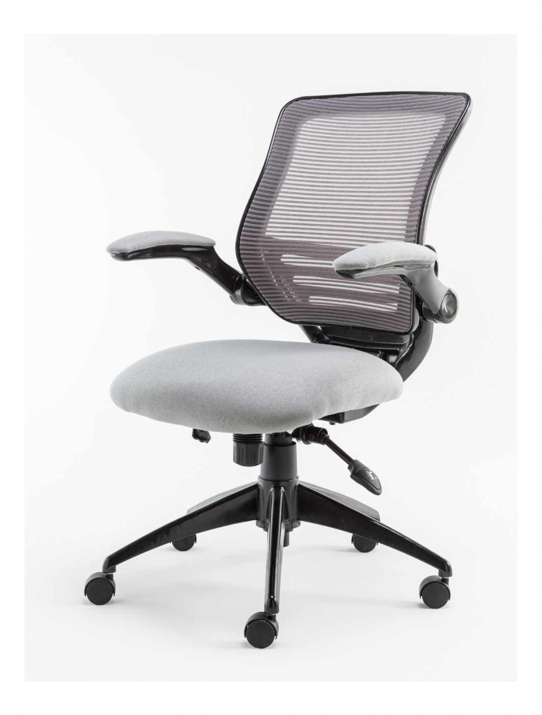 alphason stanford mesh operator chair aoc8881gry 121 office furniture